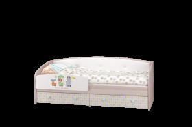 Кровать-софа с бортиком Цирк 2052х825х850 мм