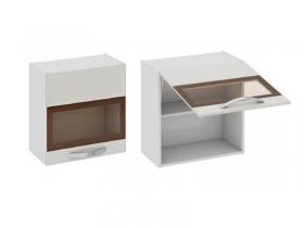 Кухня Бьюти Шкаф верхний со стеклом В60-60-1ДОc 600х600х323мм