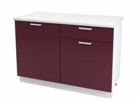 Кухня Мария шкаф нижний 1200 с 1 ящиком ШН1Я 1200 ШхВхГ 1200x840x474 мм