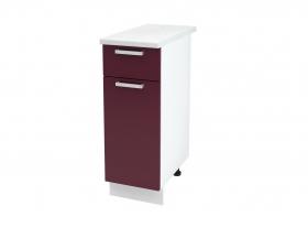 Кухня Мария шкаф нижний 300 с 1 ящиком ШН1Я 300 ШхВхГ 300x840x474 мм