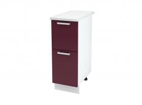 Кухня Мария шкаф нижний 300 с 2 ящиками ШН2Я 300 ШхВхГ 300x840x474 мм