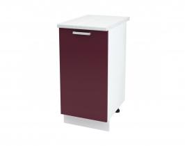 Кухня Мария шкаф нижний 400 ШН 400 ШхВхГ 400x840x474 мм