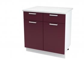 Кухня Мария шкаф нижний 800 с 1 ящиком ШН1Я 800 ШхВхГ 800x840x474 мм