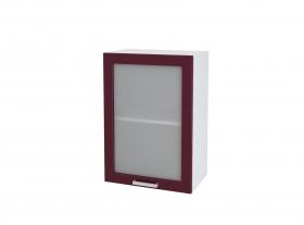 Кухня Мария шкаф верхний 500 со стеклом ШВС 500 ШхВхГ 500x716x314 мм