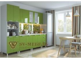 Кухня Модерн с пеналом Олива