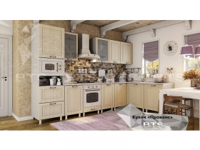 Кухня модульная угловая Прованс МДФ