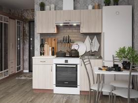 Кухня Татьяна 1,6 ЛДСП ясень темный-ясень светлый
