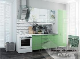 Кухонный гарнитур Бьянка 2,1 Салатовый