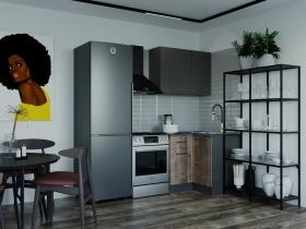 Кухонный гарнитур угловой Гранж 1000У