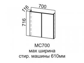 Модуль под стиральную машину МС700 Модус СВ 700х716х116