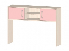 Надстройка для стола Буратино розовый ШхВхГ 1150х850х300 мм