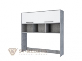 Надстройка на стол Грей ШхВхГ 1266х1224х280 мм