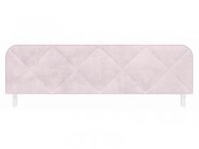 Ограничитель кровати с мягким чехлом Сказка велюр розовый ПМ-332.01.03-01