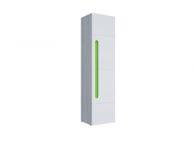 Пенал МДФ Палермо-Юниор с зелеными вставками