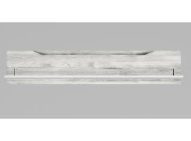 Полка навесная Соренто Белый-МДФ Рамбла ШхВхГ 1500х288х250 мм