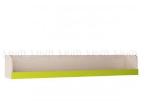 Полка Юниор-3 МДФ Мульт ШхВхГ 1634х250х296 мм