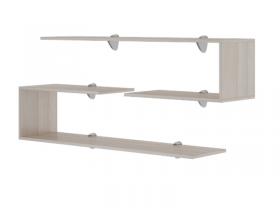 Полки навесные Остин М18 (2 шт.) ШхВхГ 1200х300х300 мм