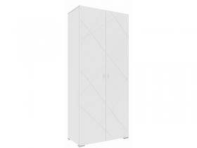 Шкаф 2-х дверный Абрис белый глянец ПМ-332.22.01
