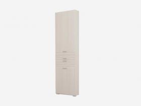 Шкаф 2-х дверный Лотос ШК-803 Бодега белая