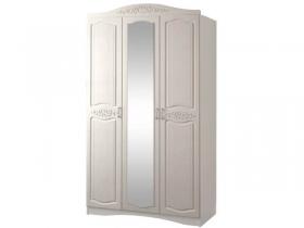 Шкаф 3-х дверный с зеркалом Виола-2