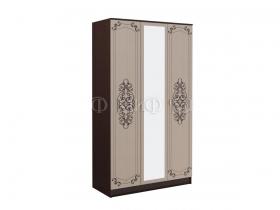 Шкаф 3-х створчатый Жасмин ШхВхГ 1350х2216х540 мм