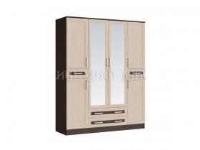 Шкаф 4-х створчатый Грация ШхВхГ 1600х2016х530 мм