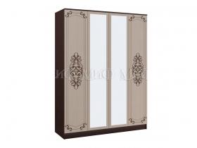 Шкаф 4-х створчатый Жасмин ШхВхГ 1600х2216х540 мм