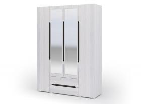 Шкаф 4х створчатый с ящиками Валенсия ШК 014 ШхВхГ 1600х2200х500 мм