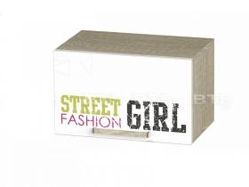 Шкаф антресольный Сенди для девочки АН-03 ШхВхГ 484х300х302 мм