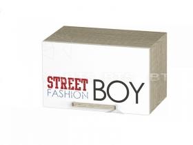 Шкаф антресольный Сенди для мальчика АН-03 ШхВхГ 484х300х302 мм