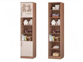 Шкаф для книг с 2-мя дверками 451х446х2136 Вояж