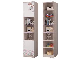Шкаф для книг с 2-мя дверками Адель