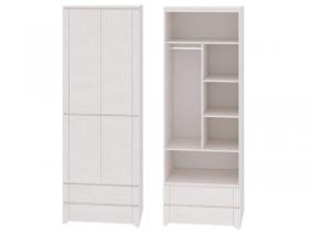 Шкаф для одежды 2-х дверный Твист 01