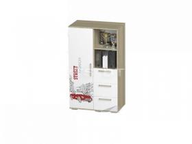 Шкаф многофункциональный Сенди для мальчика ШК-10 ШхВхГ 802х1376х460 мм