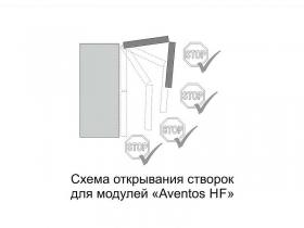 Шкаф навесной барный Ш500б Aventos HF Вектор СВ 500х912х296