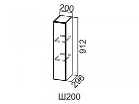 Шкаф навесной Ш200-912 Вектор СВ 200х912х296