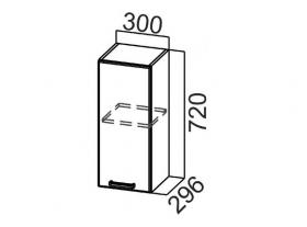 Шкаф навесной Ш300 Арабика СВ 300х720х296