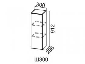 Шкаф навесной Ш300 Вектор СВ 300х912х296