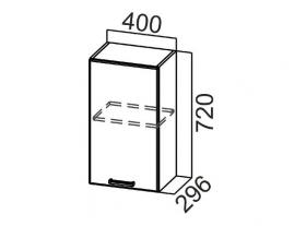 Шкаф навесной Ш400 Арабика СВ 400х720х296