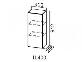 Шкаф навесной Ш400 Вектор СВ 400х912х296