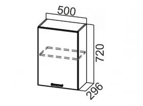 Шкаф навесной Ш500 Арабика СВ 500х720х296
