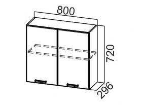 Шкаф навесной Ш800 Арабика СВ 800х720х296