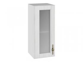 Шкаф навесной со стеклом ПС300 Империя МДФ сандал ШхВхГ 300х700х280 мм