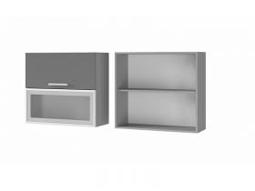 Шкаф с дверями горизонтальными 8В3 ЛДСП ШхВхГ 800х720х310 мм