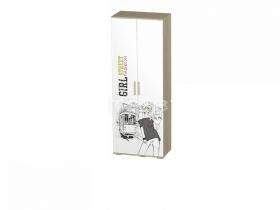 Шкаф Сенди для девочки ШК-09