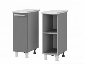 Шкаф-стол 1-дверный 3Р1 ЛДСП ШхВхГ 300х820х600 мм