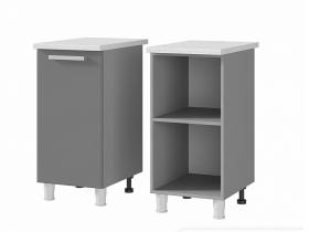 Шкаф-стол 1-дверный 4Р1 ЛДСП ШхВхГ 400х820х600 мм