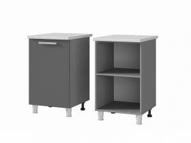 Шкаф-стол 1-дверный 5Р1 ЛДСП ШхВхГ 500х820х600 мм
