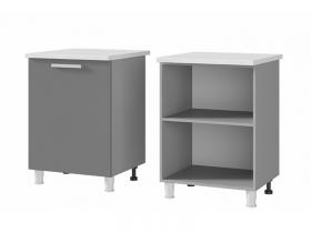 Шкаф-стол 1-дверный 6Р1 ЛДСП ШхВхГ 600х820х600 мм