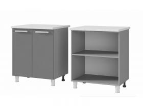 Шкаф-стол 2-дверный 7Р1 ЛДСП ШхВхГ 700х820х600 мм